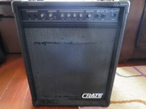 Using Craigslist to find a donor amp. Crate BX50 for $45.