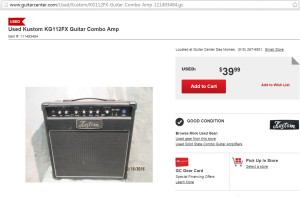 cheap solid state donor amp from guitarcenter.com