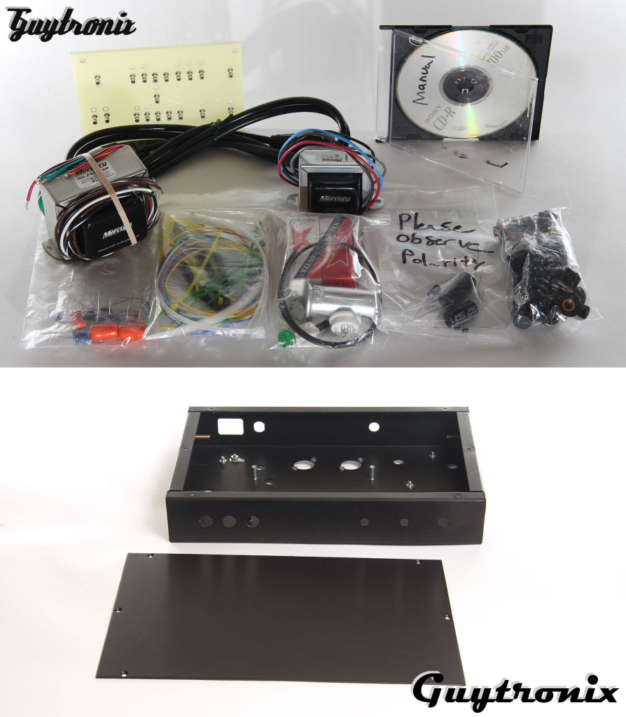 Gilmore Jr 1/2 Watt Tube Amp Kit Components/Chassis